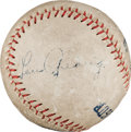 Autographs:Baseballs, Circa 1930 Lou Gehrig Single Signed Baseball....