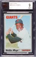 Baseball Cards:Singles (1970-Now), 1970 Topps Willie Mays #600 BVG Mint 9. ...