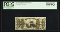 Fractional Currency:Third Issue, Fr. 1365 50¢ Third Issue Justice PCGS Choice About New 58PPQ.. ...