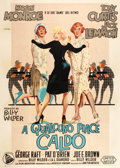 "Movie Posters:Comedy, Some Like It Hot (United Artists, 1959). Italian 4 - Foglio (55"" X78"").. ..."