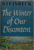 Books:Literature 1900-up, John Steinbeck. The Winter of Our Discontent. Viking Press, 1961. Book club edition. Publisher's cloth and dust ...