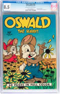 Golden Age (1938-1955):Funny Animal, Four Color #21 Oswald the Rabbit (Dell, 1943) CGC VF+ 8.5 Off-whiteto white pages....