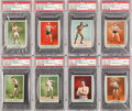 Boxing Cards:General, 1910 T225 Khedival Co. Prize Fighter Series 101 Partial Set (12). ...