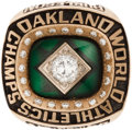 Baseball Collectibles:Others, 1989 Oakland Athletics World Championship Ring....