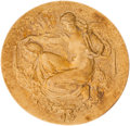 Miscellaneous Collectibles:General, 1927 Helen Wills Wimbledon Ladies' Doubles Championship GoldMedal....