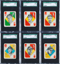 Baseball Cards:Lots, 1951 Topps Red and Blue Back Collection (300+) With Complete andNear Sets. ...