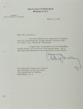 "Autographs:Statesmen, Supreme Court Justice Arthur J. Goldberg Typed Letter Signed""Arthur J. Goldberg"". One page, 8"" x 10.5"", on SupremeCour..."