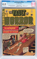 Golden Age (1938-1955):Horror, Vault of Horror #12 (#1) (EC, 1950) CGC VG 4.0 Off-white to whitepages....