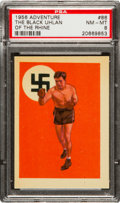 Boxing Cards:General, 1956 Topps Adventure Max Schmeling SP #86 PSA NM-MT 8. ...