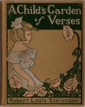 Books:Literature 1900-up, Robert Louis Stevenson. A Child's Garden of Verses. Rand, McNally & Company, 1902. First edition thus. Illustrat...