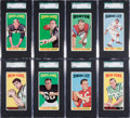 Football Cards:Sets, 1965 Topps Football Complete Set (176). ...