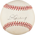Autographs:Baseballs, 1939 Lou Gehrig Single Signed Baseball--One of His Very LastAutographs....