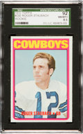 Football Cards:Singles (1970-Now), 1972 Topps Roger Staubach #200 SGC 92 NM/MT+ 8.5 - Only Two Higher....
