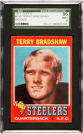 Football Cards:Singles (1970-Now), 1971 Topps Terry Bradshaw Rookie #156 SGC 96 Mint 9. ...