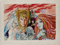 Original Comic Art:Covers, Gray Morrow - The Illustrated Roger Zelazny Cover Original Art(Baronet, 1978). In 1978, writer Roger Zelazny worked with ar...