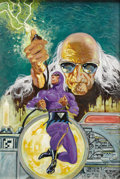 "Original Comic Art:Covers, Don Newton - The Phantom #73 Cover Original Art (Charlton, 1976).In 1975, Don Newton's vision of ""the ghost who walks,"" bur..."