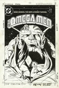 Original Comic Art:Covers, Tod Smith - Original Cover Art for Omega Men #19 (DC, 1984). Thisinteresting cover has several of the Omega Men ascending t...