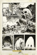 Original Comic Art:Panel Pages, Jim Starlin and Tony DeZuniga - Marvel Preview #10, page 19Original Art (Marvel, 1977). Sent on a mission by their father, ...