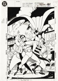 Original Comic Art:Covers, Ty Templeton - Batman Adventures #4 Cover Original Art (DC, 1993).Ty Templeton has had a long career at DC and Marvel, crea...
