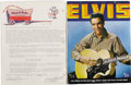 Music Memorabilia:Autographs and Signed Items, Elvis Presley and Colonel Tom Signed Tour Book Agreement. Asingle-page memo on Colonel Tom Parker's business stationery, da...(Total: 1 Item)