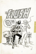 "Original Comic Art:Covers, Wally Wood - Krazy Little Comics ""The Flush"" Cover Original Art(Topps, 1967). Rascally Roy Thomas and Wally Wood teamed to ..."