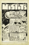 "Original Comic Art:Panel Pages, Wally Wood and Ralph Reese - Heroes Inc., Presents Cannon #nn ""TheMisfits"", page 1 Original Art (Wood/CPL/Gang Publ., 1969)...."