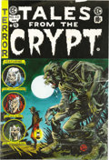 Original Comic Art:Miscellaneous, Marie Severin - Tales From The Crypt #46 Cover Color Guide Production Art (Russ Cochran, 1977). For Russ Cochran's deluxe re...