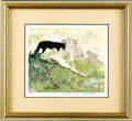 """Original Comic Art:Paintings, Frank Frazetta - """"Golden Girl"""" Signed Limited Edition Print#22/2000 (Russ Cochran, 1978). """"Golden Girl"""" was published in th..."""