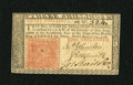 Colonial Notes:New Jersey, New Jersey March 25, 1776 3s Choice About New+++. A faint centerfold is found on this otherwise wonderfully embossed and bo...