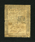 Colonial Notes:Pennsylvania, Pennsylvania April 25, 1776 2s Fine-Very Fine. This is a moderatelycirculated note that has decent detail but which has sev...