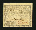 Colonial Notes:Rhode Island, Rhode Island July 2, 1780 $1 New. A lovely Rhode Island note which would otherwise grade as Very Choice New is well embossed...