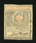 Colonial Notes:Rhode Island, Rhode Island July 2, 1780 $4 About New. This fully signed exampledisplays a center fold and there is a little light stain o...