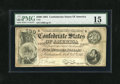 Confederate Notes:1864 Issues, T64 $500 1864. This well-signed $500 faces up like a VF, though a couple of breaks are noted where some folds intersect. A p...