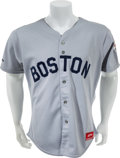 Baseball Collectibles:Uniforms, 1987 Wade Boggs Game Worn Boston Red Sox Jersey. ...