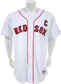 Baseball Collectibles:Uniforms, 2005 Jason Varitek Game Worn Boston Red Sox Jersey. ...