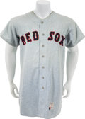 Baseball Collectibles:Uniforms, 1969 Boston Red Sox Farm Club Jersey....