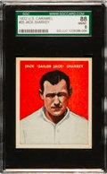 Boxing Cards:General, 1932 U.S. Caramel Jack Sharkey #25 SGC 88 NM/MT 8....