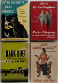 Books:Mystery & Detective Fiction, Peter Cheyney. Group of Four Mystery Novels/One Inscribed. Collinsand Dodd, Mead and Company, 1937-1953. Various editions. ...(Total: 4 Items)