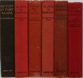 Books:World History, Francis A. Waterhouse. Group of Six Foreign Legion Related Books. Sampson Low, circa 1930s. Publisher's cloth. Includes Sl... (Total: 6 Items)
