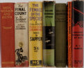 Books:Fiction, Sapper [pseudonym for Herman C. McNeile]. Seven Novels IncludingSix in the Bulldog Drummond Series. Various publishers, va...(Total: 7 Items)