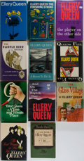 Books:Mystery & Detective Fiction, Ellery Queen. Large Group of Eleven First Editions by Ellery Queen.Various publishers, various years, 1954-1970. Publisher'... (Total:11 Items)