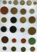 Bolivia, Bolivia: Tokens 46 mostly pre-1900 in Various Metals,... (Total: 46 tokens)