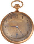 Golf Collectibles:Miscellaneous, 1920's Jim Barnes Personally Owned Pocket Watch....