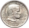 Commemorative Silver, 1922 50C Grant With Star MS64+ PCGS. CAC....