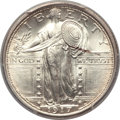 Standing Liberty Quarters, 1917-S 25C Type One MS66 Full Head PCGS....