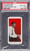 "Baseball Cards:Singles (Pre-1930), 1910 E98 ""Set of 30"" Connie Mack PSA NM-MT+ 8.5 Black Swamp Find...."