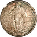 Standing Liberty Quarters, 1917-D 25C Type One MS67 Full Head NGC....