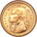 Commemorative Gold, 1903 G$1 Louisiana Purchase/Jefferson MS67 PCGS....