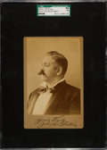 "Boxing Cards:General, 1890's John L. Sullivan Cabinet Photo ""Yours Truly"" SGC 84 NM 7...."