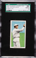 Baseball Cards:Singles (Pre-1930), 1909-11 T206 Piedmont John McGraw, Finger in Air SGC 88 NM/MT 8 -Pop One, None Higher! ...